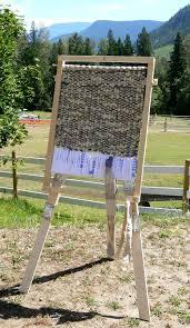 rag rug making simple loom plans