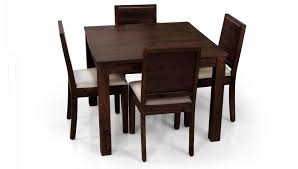square dining table for 4. Round Dining Table 4 Chairs Casual Wooden Design Of Square Room With Its Simple For N