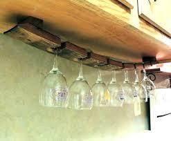 wooden wine glass rack under cabinet wine rack under cabinet stemware rack superb under cabinet wine wooden wine glass rack