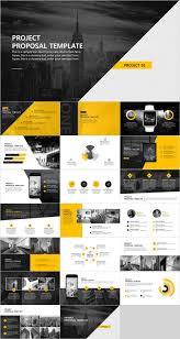 Presentation Design Templates Creative Project Proposal Powerpoint Template Pcslide Com