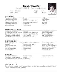 Modeling Resume Template Unique Acting Modeling Resume Template Model Resume Template 30