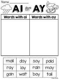 Printable phonics worksheets and flash cards: Pin On Word Work