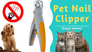 Light Up Pet Nail Clippers Pet Nail Clipper Trimmer Led Light Illuminated Cut Prevention Wont Hurt Pets Great For Cats Dogs