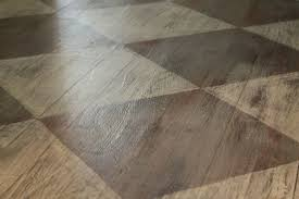 i know annie sloan s their own lacquer you can apply to finish flooring and seal it up we ll have to add some sort of toe strip around the baseboard