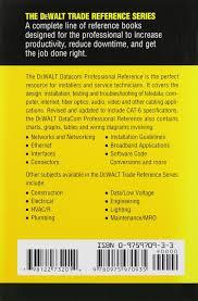 Dewalt Datacom Professional Reference (Dewalt Series): Paul ...