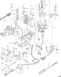 Mercury mariner 8 9 9 209cc 4 stroke electrical ponents electric