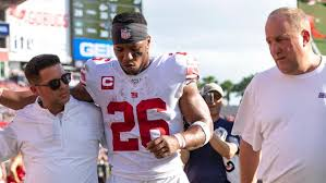 Ny Giants Rb Depth Chart Ripple Effects Of Giants Rb Saquon Barkleys High Ankle