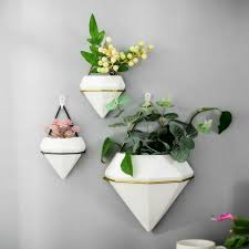 home wall hanging plant flower pots