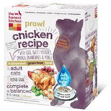 Prowl  GrainFree Chicken Cat Food - Honest kitchen dog food