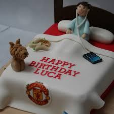 Manchester United Bedroom Manchester United Bedroom Cake