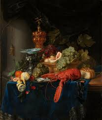Pieter de Ring, 'Still life with golden goblet' 165060 oil on canvas, 100  x 85 cm. Rijksmuseum