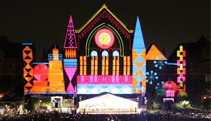 Cincinnati Light Show October 2017 Blink Aims To Establish Cincinnatis Artistic Vision