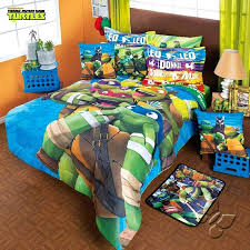 Teenage Mutant Ninja Turtles Comforter Set Add Sheet Turtle Bed ...