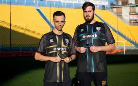New Erreà x Parma Calcio eSports team jerseys