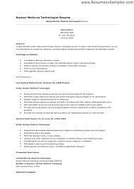 Medical Technologist Resume Medical Laboratory Technologist Resume