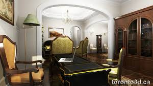 home office home ofice interior. 3d-archiitectural-rendering-interior-classic-home-office-visualization Home Office Ofice Interior C