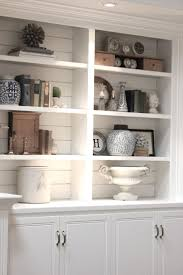 ... Extraordinary White Built In Bookcases Ideas For Painting Built In  Bookshelves White Shelves ...
