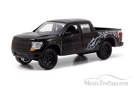 Ford F-150 SVT Raptor Pickup Truck, Black - Jada Toys Just Trucks ...