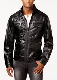 i n c men s zones faux leather jacket created for macy s