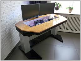 best custom computer desk ideas custom computer desk planshome design ideas desk home design