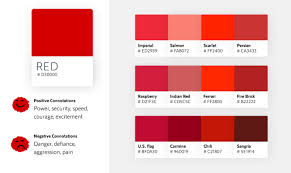 Fire Color Chart Color Psychology In Marketing The Ultimate Guide Visual