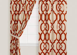 marvelous design rust colored curtains gorgeous inspiration sheer arresting white ds