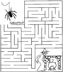 Halloweenit Lavoretti Di Halloween Per I Bimbi I Labirinti Di