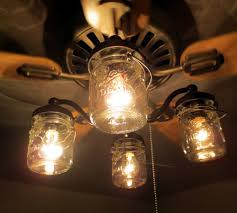 full size of mason jar ceiling fanht kit only with vintage pints licious chandelier lamp shades