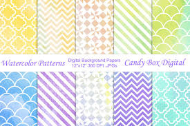 Watercolor Patterns