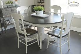 paint kitchen table best tables painting kitchen table and chairs