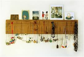a necklace display