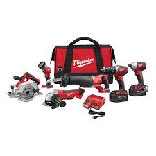 milwaukee m18 logo. milwaukee m18 18-volt lithium-ion cordless combo kit (6-tool) logo o