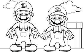 Coloring Index Coloring Pages Super Bros Super Coloring Character