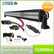 aliexpress com buy 52 300w cree led work working driving light aliexpress com buy 52 300w cree led work working driving light bar combo beam wiring harness kit from reliable led beam suppliers on led tech
