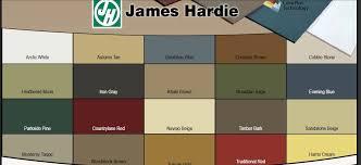 har plank and t 111 siding colour chart