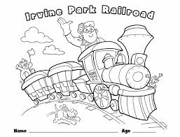 """A carol """"silent night has been as usual, all coloring sheets on topcoloringpages.net can be printed out on a home printer on a4 printable christmas coloring pages for kids and their parents is a great idea to spend this special. Children S Coloring Page Irvine Park Railroad"""
