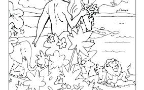 Adam And Eve Coloring Page And Coloring Page And Eve Coloring Page