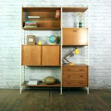 storage unit office. Wall Storage Units Retro Vintage Teak Mid Century Unit Shelves Office Heals