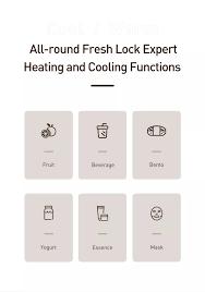 Baseus Tủ lạnh mini dung tích 8L có hai chế độ nóng à lạnh tủ lạnh mini  dành cho gia đình nhỏ xe hơi du lịch - INTL