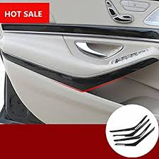 abs wood grain style car door moulding cover for benz s cl w222 2018 2018