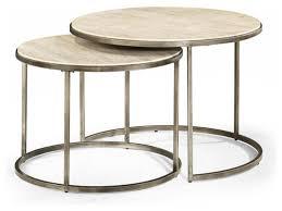 Furniture: Round Nesting Coffee Table Beautiful Round Nesting Coffee Tables  Modern Basics By Hammary Modern