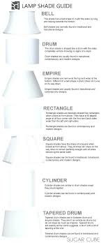 lampshade frame types lamp shades sizes floor shade size com 4 with gurus table best decoration