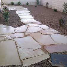 prevent softer flagstones from ping