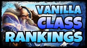 Class Dps Hps Rankings In Vanilla Classic Wow Raid Guide