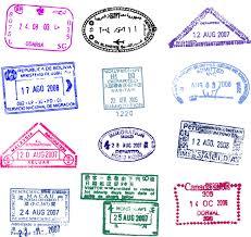 Vector Passport stamps design set 03 | Free psd and vectors ...