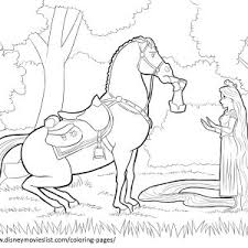 Small Picture Printable Tangled Coloring Pages For Kids Kids adult