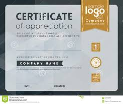 free templates for certificates of appreciation modern certificate of appreciation design military bralicious co