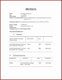 Biodata Resumes Normal Biodata Format Pdf Form In Sri Lanka For Job Engne Euforic Co