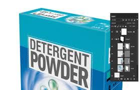 Detergent Powder Packaging Design Psd Free Editable 3d Detergent Box Mockup On Behance