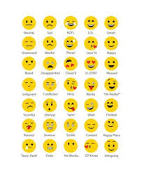 Moods Giant Message Board Facebook Emoticons Personalized